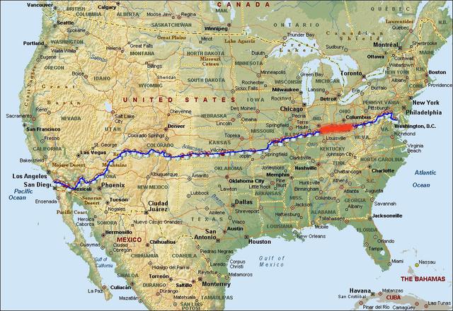 Indiana és Ohio között teker most a mezőny