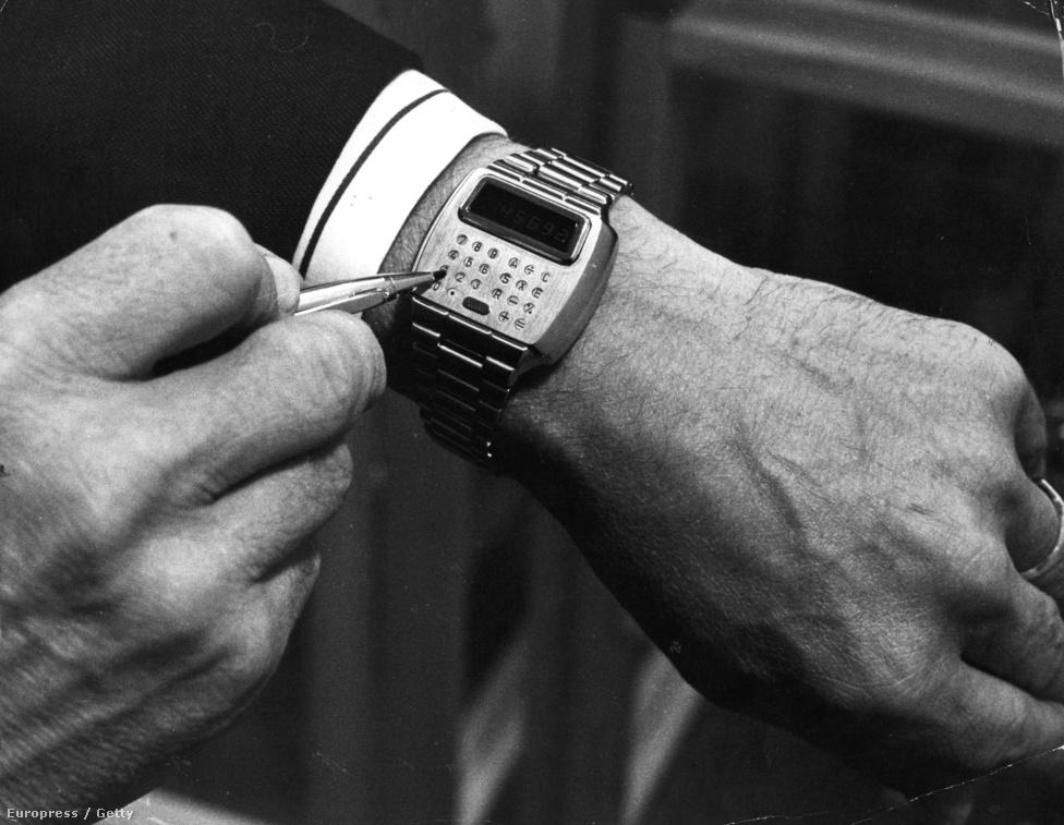 1977. szeptember 5. Mikroprocesszor a karon: a Pulsar volt az első kvarcóra, amibe kis számítógépet (na jó, legalábbis számológépet) integrált a gyártó.