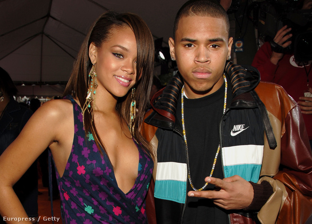 Rihanna és Chris Brown a 2006-os a Nickelodeon Kids Choice Awardson