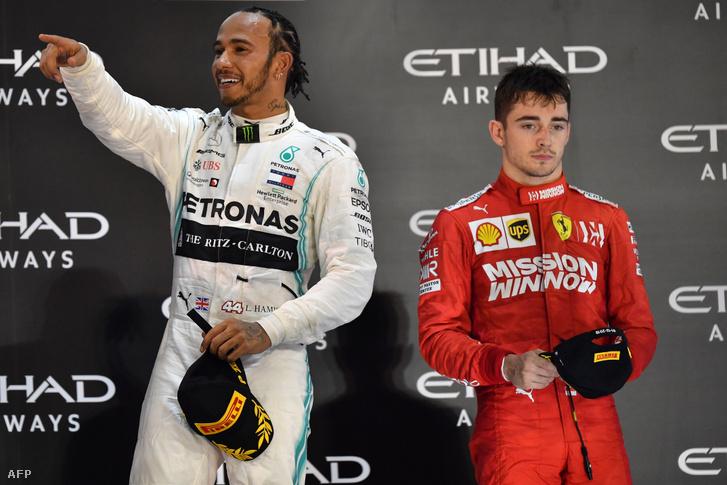 Hamilton és Leclerc - csapattársak 2021-ben?