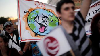 Madridon a világ klímaszeme