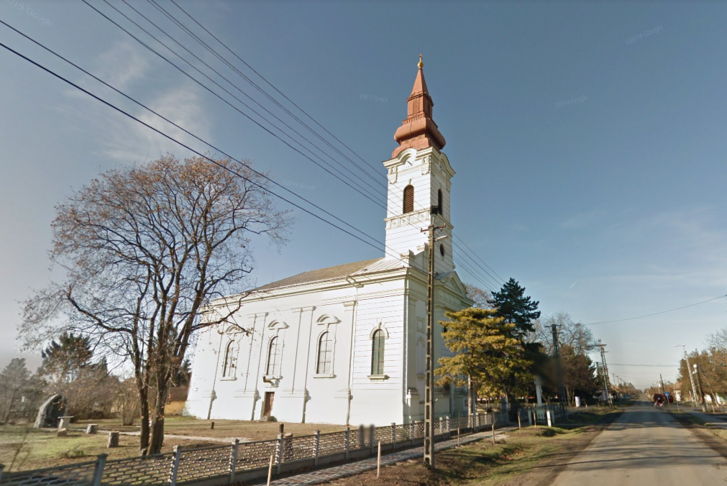A magyarbánhegyesi templom