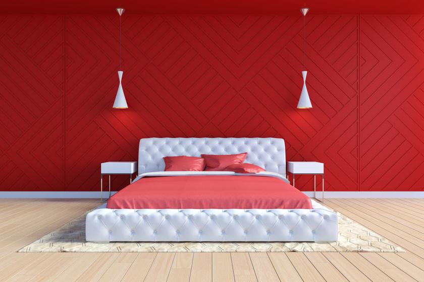 A vörös a szenvedély színe, ugyanakkor egy pezsgő, élénk szín is, amely képes lehet megemelni a vérnyomást és aktívabb mozgásra ingerelni az embert. Ezért kifejezetten rosszat tesz a nyugodt alvásnak.