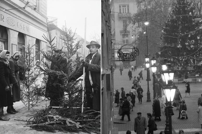 Nosztalgikus fotókon a régi Budapest karácsonyi bája - Nagyon más volt, mint mostanság?