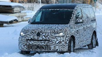Kémfotókon az új VW Caddy