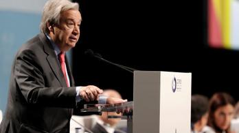 COP 25: az ENSZ-főtitkár bírálta Kínát, az USA-t és Indiát