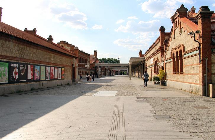 A madridi El Matadero - vágóhídból kulturális központ