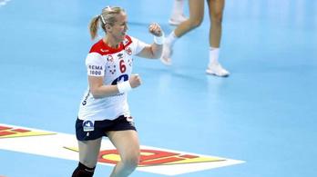 23-8-ra hozták a 2. félidőt a norvégok, nyertek a kézi-vb-n