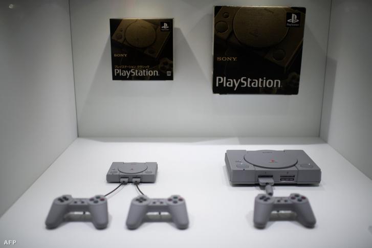 A 2018-as Sony Playstation Classic és az 1994-es Sony Playstation