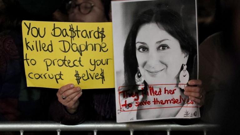 A fél kormány belebukott a máltai újságírónő meggyilkolása körüli ügybe