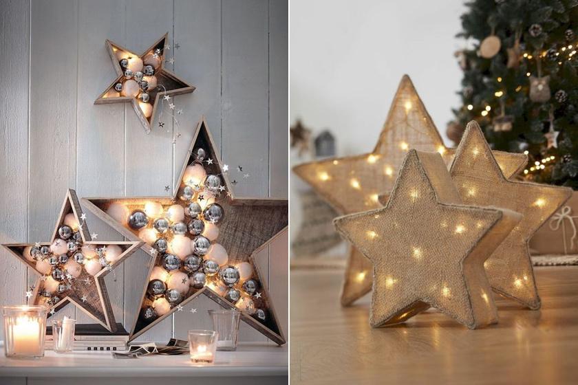 Pár csillagból is gyönyörű dekorációt készíthetsz - Letisztult, de kedves díszeket mutatunk