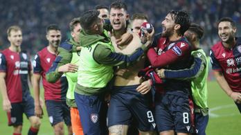 Őrült meccsen, utolsó perces góllal nyert az olasz meglepetéscsapat