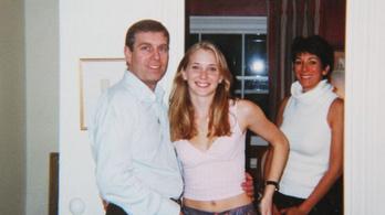 Epstein úgy szolgálta fel a nőket András hercegnek, mint gyümölcsöket a tálon
