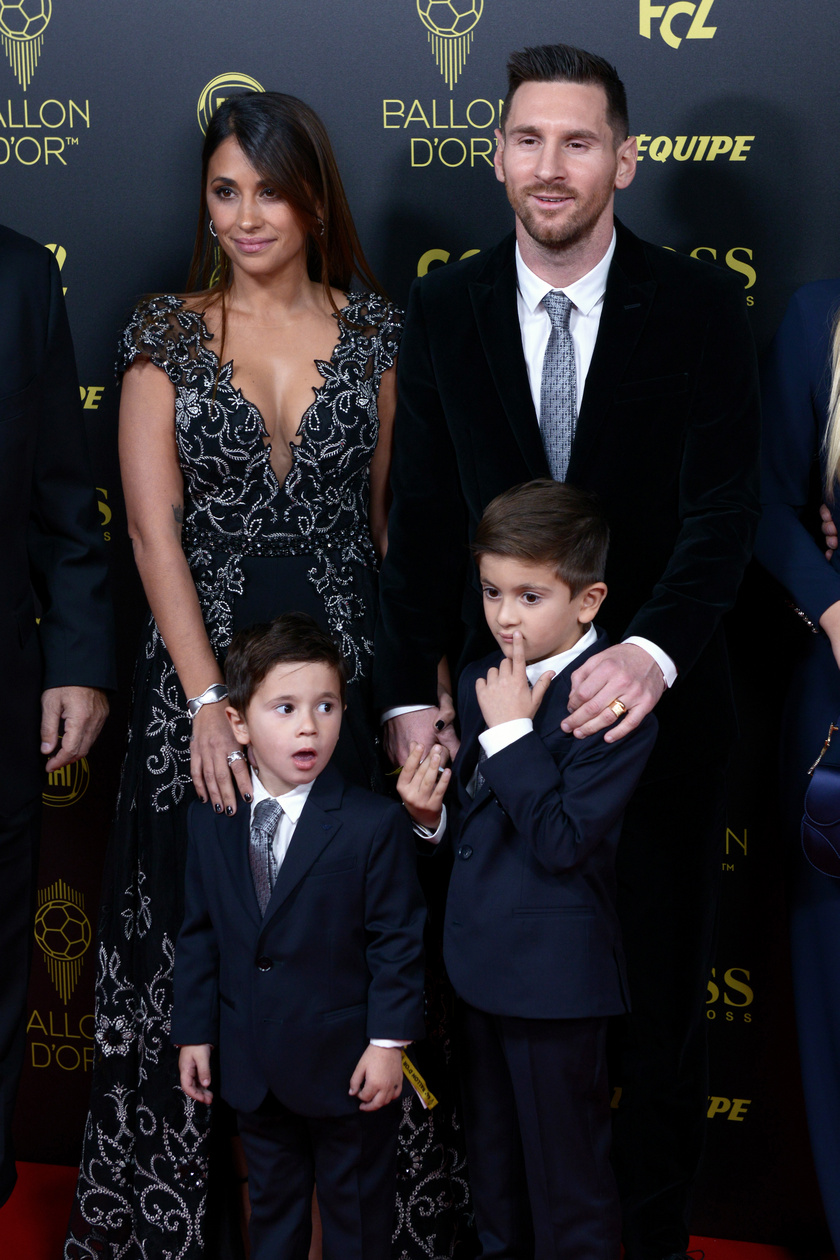 lionel messi családja