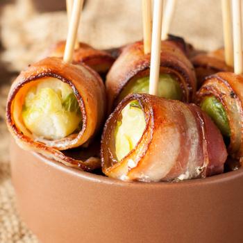 Isteni, sült baconbe csomagolt kelbimbó – Köret és előétel is lehet belőle