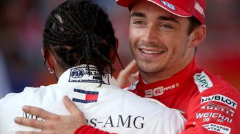 Leclerc: Szívesen látom Hamiltont a Ferrarinál