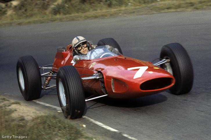 Tízből nyolc futamot pirosban versenyzett a Ferrari 1964-ben