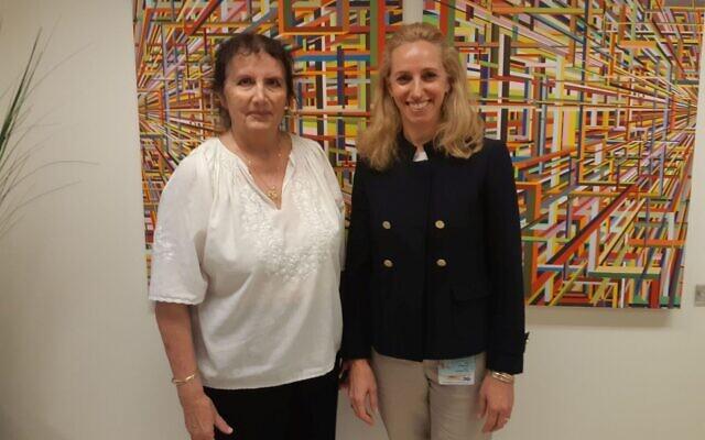 Prof. Malka Cohen-Armon és Dr. Talia Golan