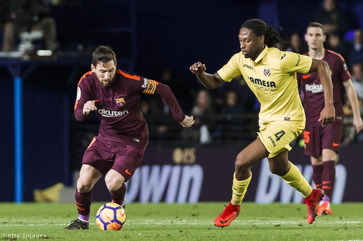 Messivel a Villareal - Barcelona meccsen 2017. december 10-én