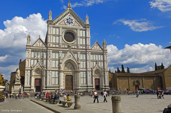 Szent Kereszt bazilika (Santa Croce) Firenzében