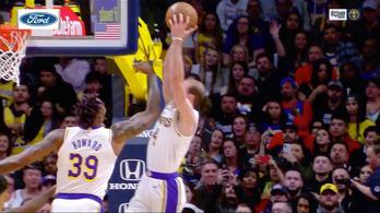 Berobbanó zsákolástól tombolt a Lakers, Dončić megint LeBront másolta