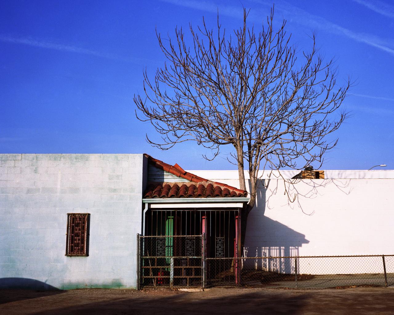Egy korábbi kínai templom a kaliforniai Bakersfieldben.