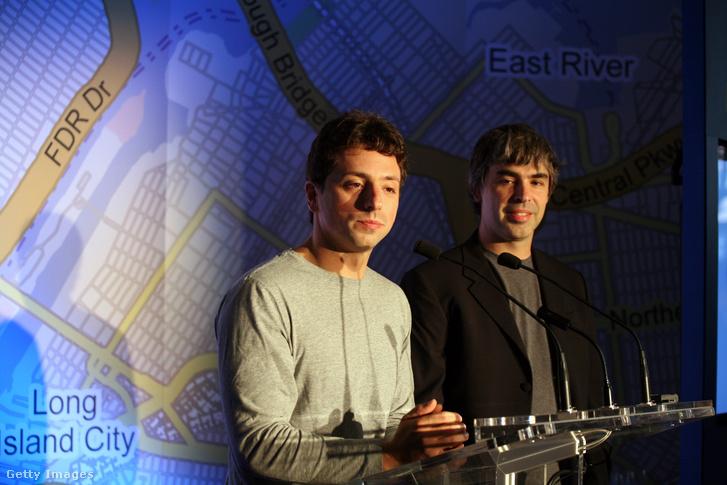 Sergey Brin és Larry Page