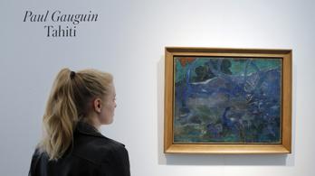 Milliárdos áron árvereztek el egy Gauguin-festményt