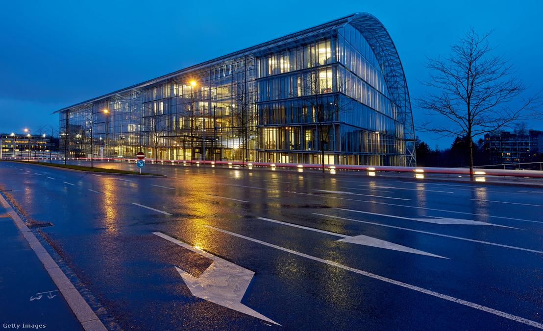 Az Európai Beruházási Bank luxemburgi székháza