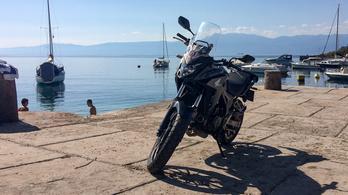 Túra: Honda CB500X-szel Rijekába
