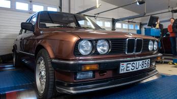 Totalcar Erőmérő: BMW 325e E30