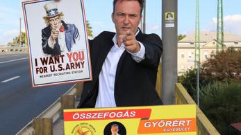 A fideszes és az ellenzéki jelölt mellett két civil is indul a győri polgármesteri székért