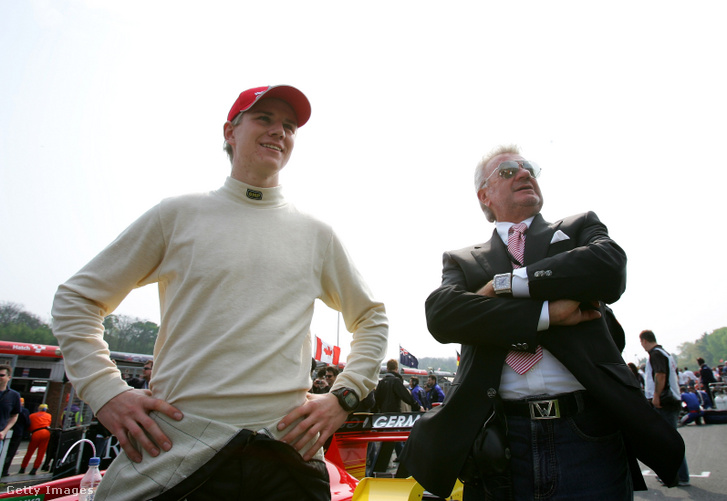 Nico Hülkenberg és Willi Weber 2007-ben.
