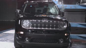 Lepontozták a Jeep Renegade-et