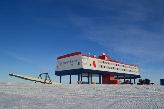 Az antarktiszi Neumayer III állomás