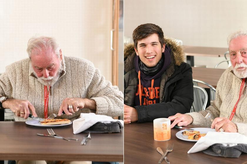 Csodaszép történet a magányos, idős férfiról és a szomszéd iskola diákjairól: emberségből jeles