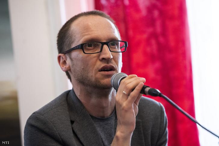 Demeter Szilárd író, a Petőfi Irodalmi Múzeum (PIM) főigazgatója