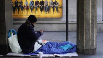 Minden második hajléktalan agysérülést szenved
