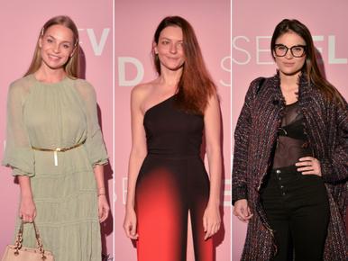 A frissen Emmyt nyert Gera Marina volt az egyik legszexibb a Seveled premierjén