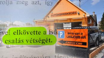 Bíróság: csalt a Csonti Car munkatársa