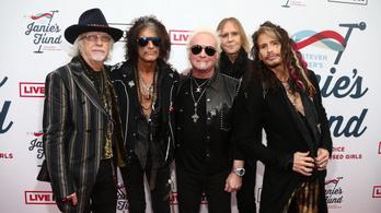 Az Aerosmith 26 év után visszatér Budapestre