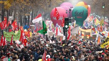 Folytatódnak a franciaországi tüntetések