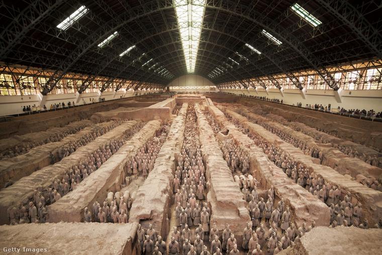 Csin Si Huang-ti sírját 1974-ben fedezték fel