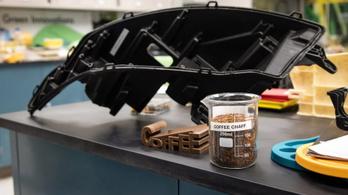 Kávébab-héjból készít autóalkatrészt a Ford