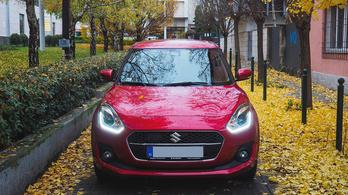 Az új Suzuki Swift egy kezdő hibrides szemével