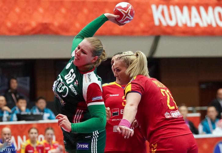 Szabó Laura a Magyarország – Románia mérkőzésen