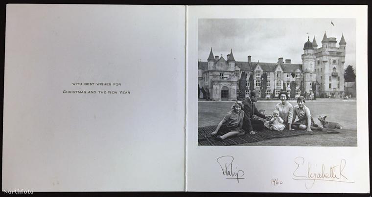 1960 karácsonyára már megszületett András herceg is, így ötszemélyesre bővült a királyi család