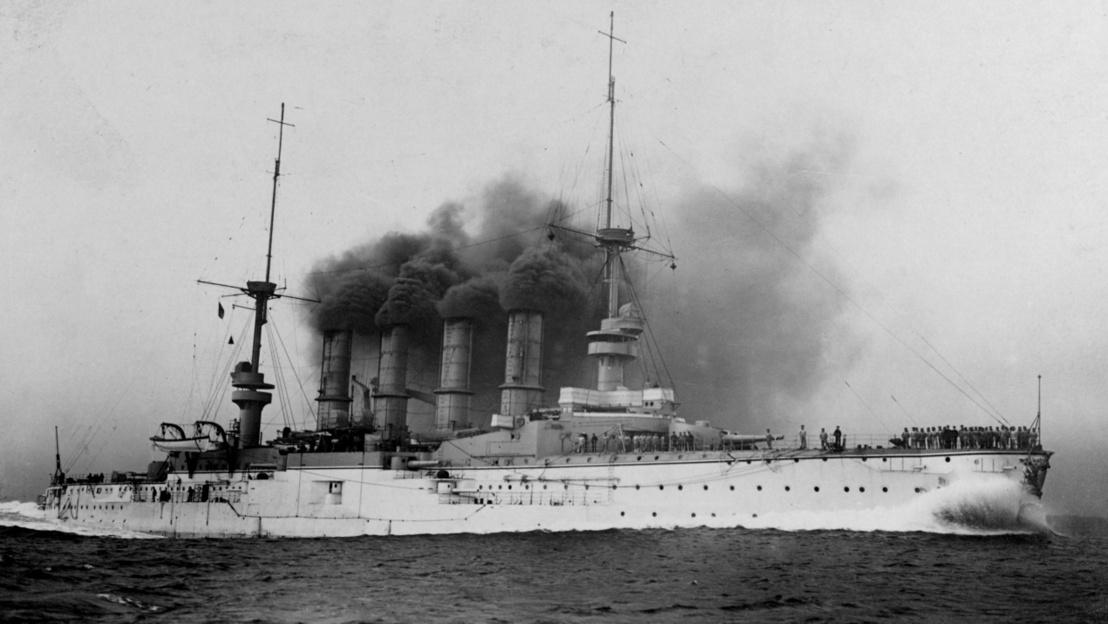 SMS Scharnhorst by Arthur Renard