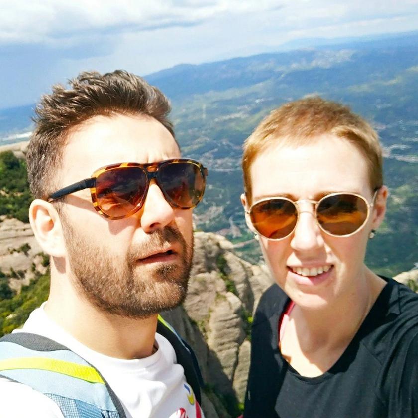 Audrey Mash és férje