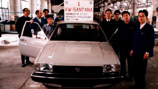 Hogy került a Volkswagen Sanghajba?